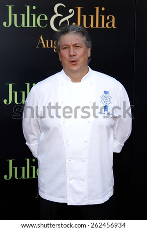 Patrick Martin at the Los Angeles premiere of 'Julie and Julia' held at the Mann Village Theatre in Westwood, USA. July 27, 2009. - stock photo
