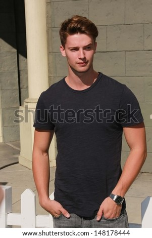 Patrick Schwarzenegger at Variety's Power of Youth, Universal Studios, Universal City, CA 07-27-13 - stock photo