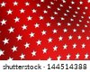 Patriotic Star Background - stock vector