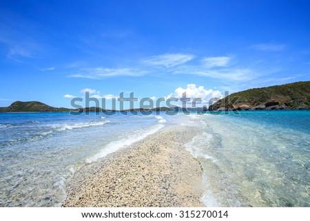 Pattaya beach, east of Thailand - stock photo