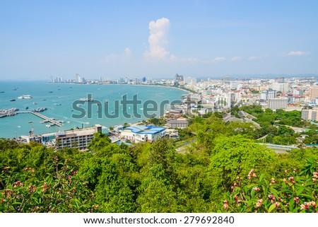 Pattaya city - stock photo