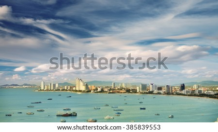 pattaya city view