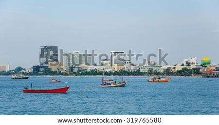 Pattaya views - stock photo