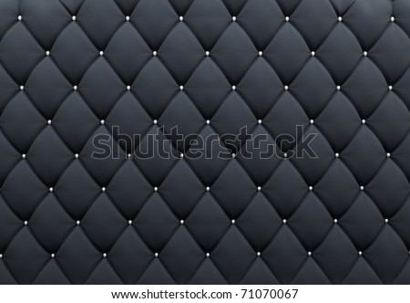 Pattern. Buttoned texture. Luxurious background. Upholstery - stock photo