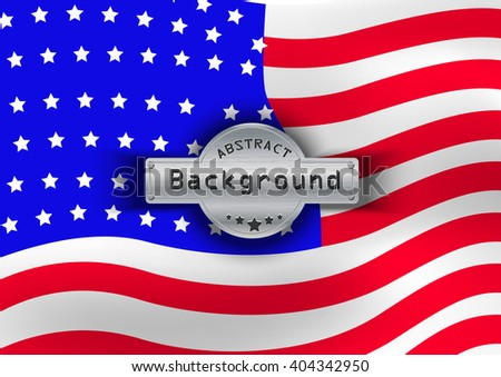 Pattern flag USA background. illustration,
