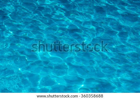 Pattern in swimming pool background.