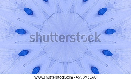 Pattern laid out in a mosaic type fashion. - stock photo