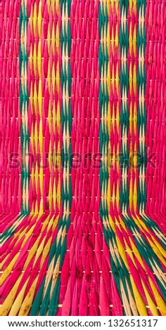 pattern of colorful mat