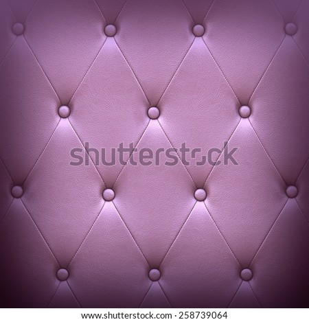 Pattern of dark violet leather seat upholstery use for background - stock photo