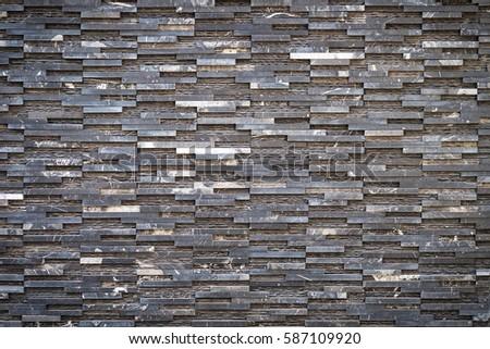 Decorative Stone Wall pattern decorative slate stone wall surface stock photo 244099747