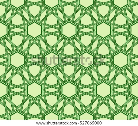 pattern of hexagons. Raster copy illustration. green. for design, wallpaper, graphic arts, presentations
