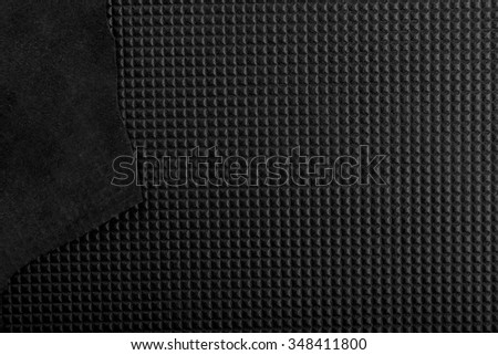 pattern of leather background with square texture and leather border