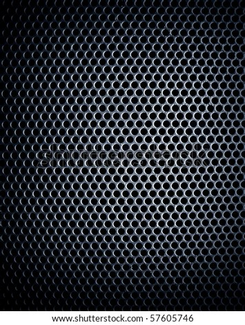 pattern of metal mesh - stock photo