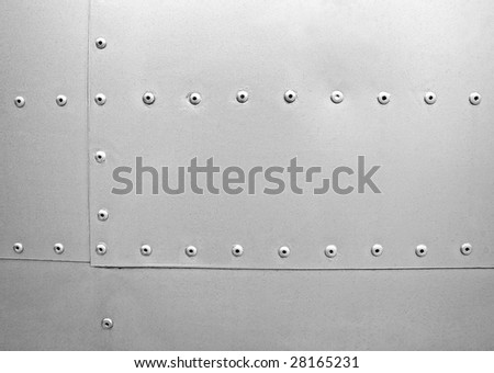 pattern of metal plate - stock photo