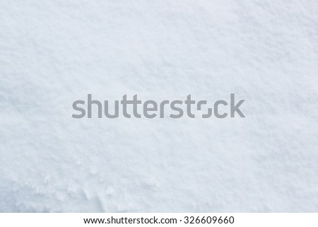 Pattern of real snow background in winter