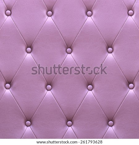 Pattern of violet leather seat upholstery use for background - stock photo