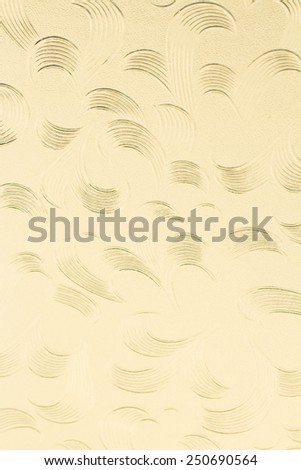 pattern on Background corrugated glass - stock photo