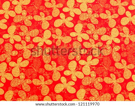 Pattern on the wrapper - stock photo