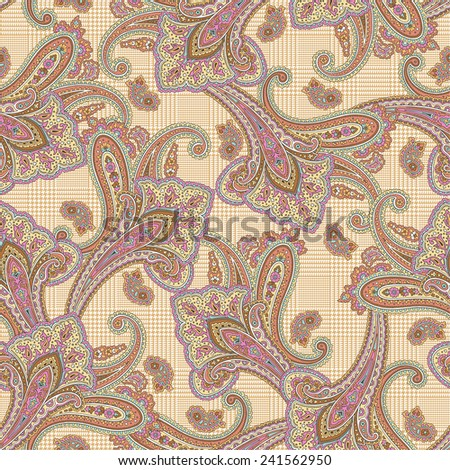 pattern paisley - stock photo