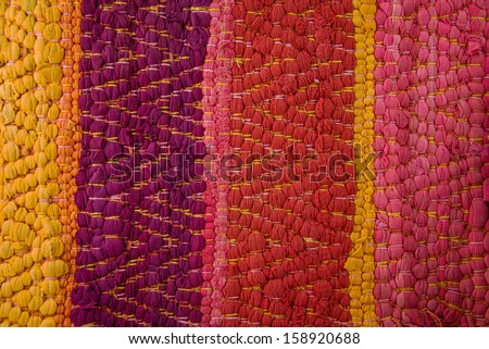 Pattern Peru traditional Fabric Background colourful Texture. South American Culture. Latin America. - stock photo
