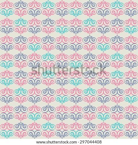 Pattern. Raster version - stock photo