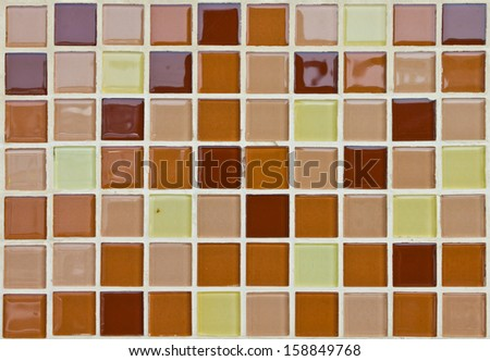 pattern style of ceramic wall for background