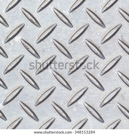 Pattern style of Steel floor background and texture  - stock photo