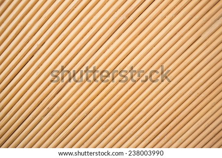 Pattern texture of bamboo weave hand made - stock photo