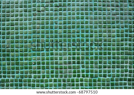 Pattern tiles texture in the bathroom - stock photo