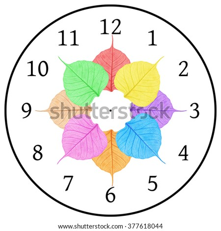 Patterned beauty of Pho , Pho colorful India , Pho in the clock - stock photo