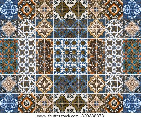 Ceramic edging tiles