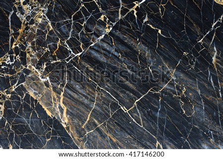 Patterned structure of dark gray marble pattern for design and texture. - stock photo