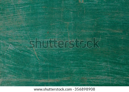 Patterned texture old green wooden boards. - stock photo