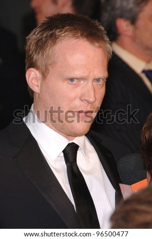 PAUL BETTANY at the world premiere of his new movie Firewall at the Grauman's Chinese Theatre, Hollywood. February 2, 2006  Los Angeles, CA.  2006 Paul Smith / Featureflash