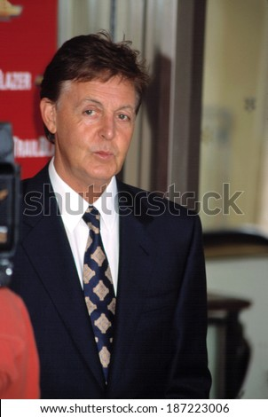 Paul McCartney At The Redbook Mothers And Shakers Awards NYC 9 10