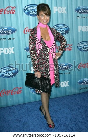 Paula Abdul at the 'American Idol' Top 12 Party. Area, Los Angeles, CA. 03-05-09