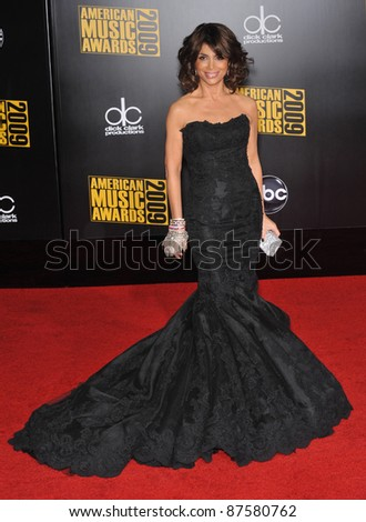 Paula Abdul at the 2009 American Music Awards at the Nokia Theatre L.A. Live. November 22, 2009  Los Angeles, CA Picture: Paul Smith / Featureflash