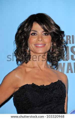 Paula Abdul at the 2009 American Music Awards Press Room, Nokia Theater, Los Angeles, CA. 11-22-09