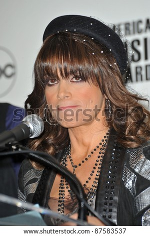 Paula Abdul at the nominations announcement for the 2009 American Music Awards at the Beverly Hills Hotel. October 13, 2009  Los Angeles, CA Picture: Paul Smith / Featureflash