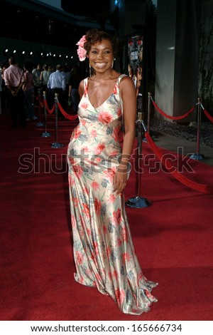 Paula Jai Parker at HUSTLE & FLOW Premiere, Cinerama Dome at Arclight Cinemas, Los Angeles, CA, July 20, 2005