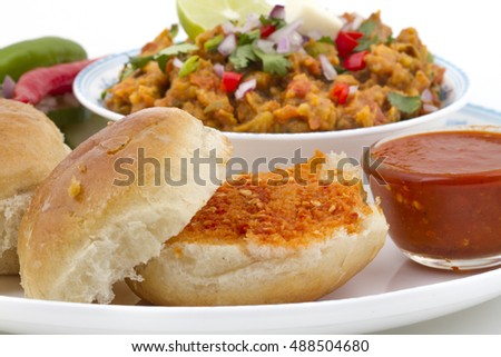Pav Bhaji, Indian Street's Fast Food
