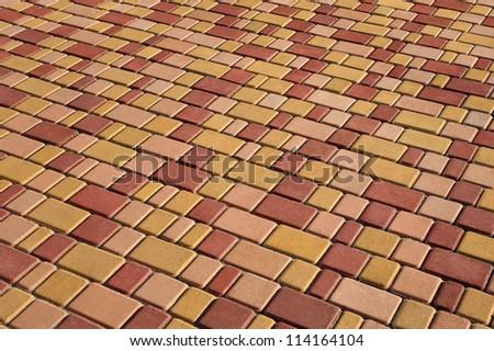 Pavement background - stock photo
