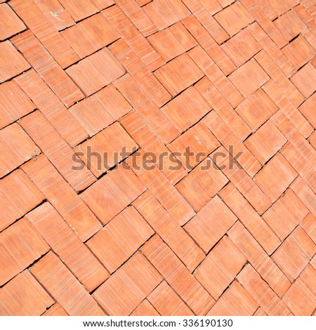 pavement Background of cobble stones