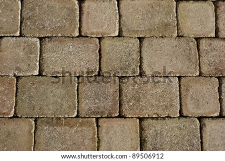 pavement detail of texture - stock photo