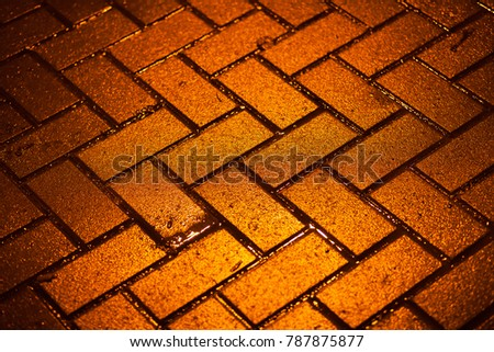 Pavement rectangular , road for car oh home, good patern, background testure for construction site