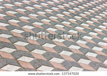 Pavement texture as background - stock photo
