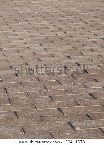 Pavers perspective background - stock photo
