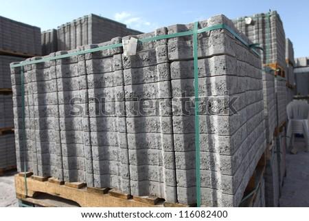 paving stone - stock photo