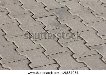paving stone as background - stock photo