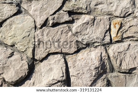 paving stone texture close up